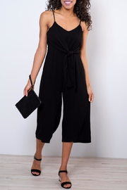 Everly Side Tie Culotte Jumpsuit - Front cropped