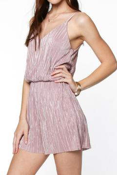 Shoptiques Product: Silky Pleated Romper