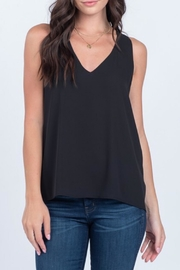 Everly Silky Tank Black - Product Mini Image