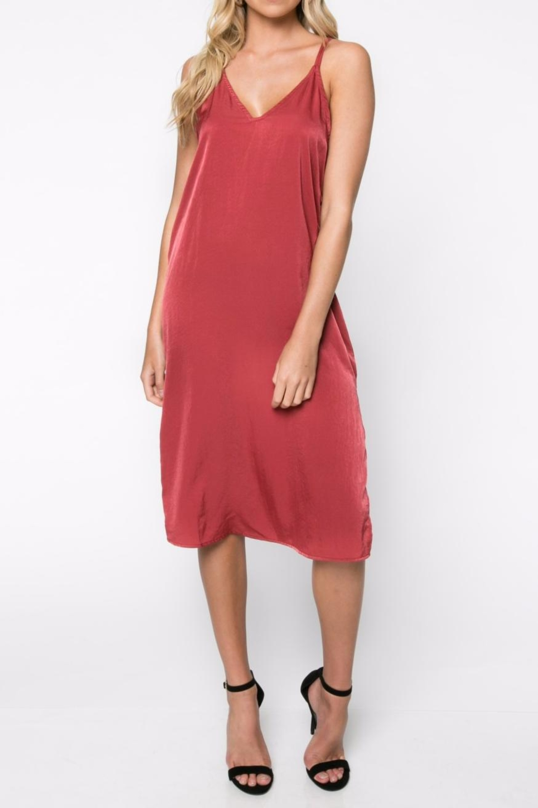 Everly Slip Dress - Front Cropped Image