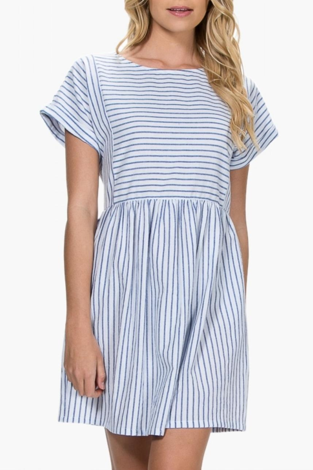 5492dd9cb7b3 Everly Striped Babydoll Dress from Virginia by mod soul — Shoptiques