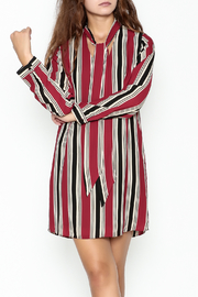 Everly Striped Shift Dress - Product Mini Image