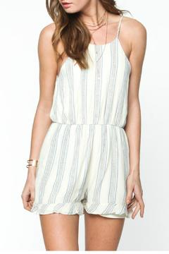 Shoptiques Product: Striped Tie Romper