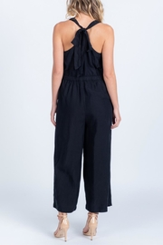 Everly Tie Back Jumpsuit - Back cropped