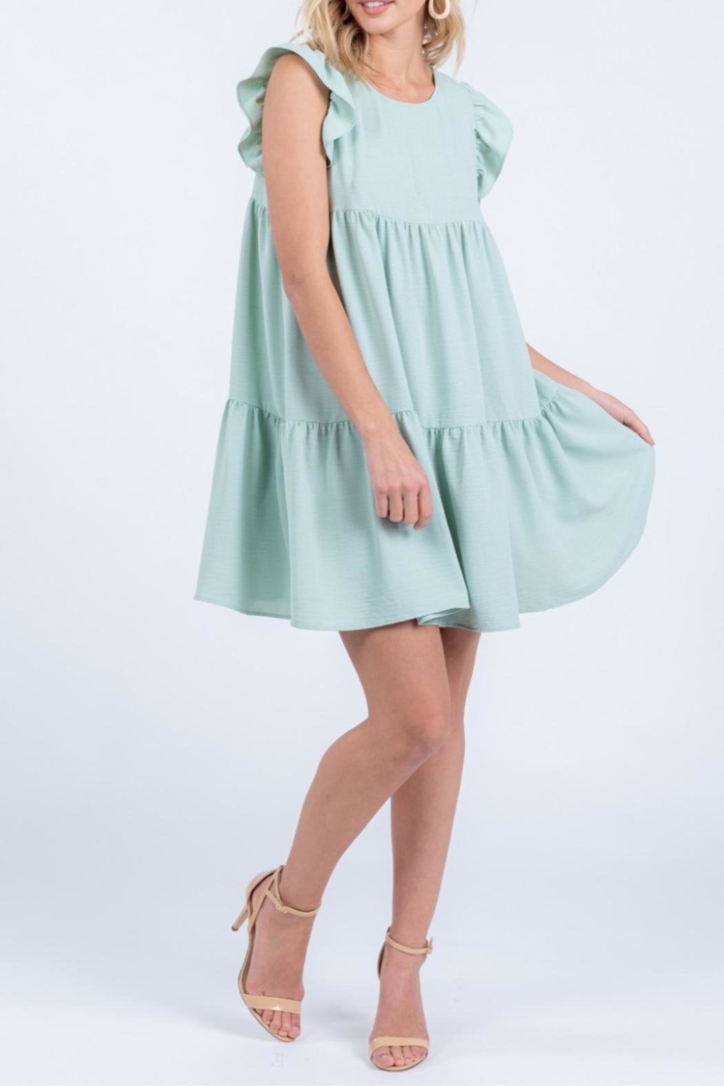 Everly Tiered Babydoll Dress - Main Image
