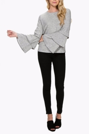 Everly Tiered Sleeve Sweater - Product Mini Image