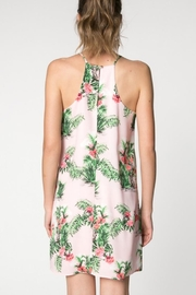 Everly Tropical Flamingo Dress - Side cropped