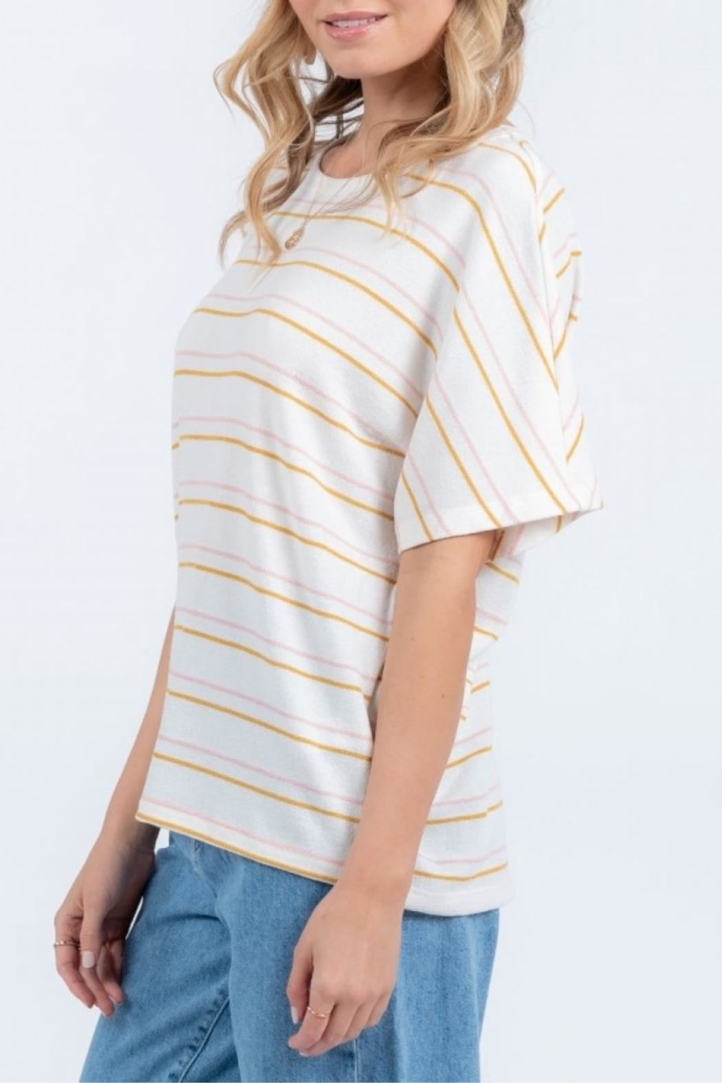 Everly Twist Back Top - Side Cropped Image