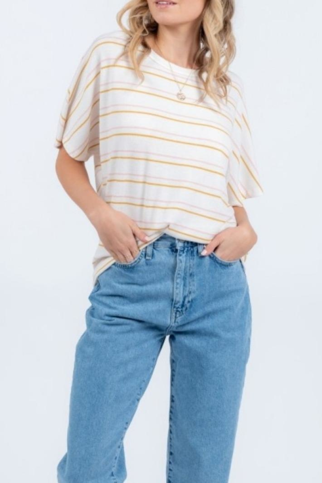 Everly Twist Back Top - Main Image