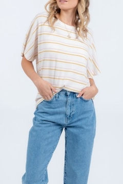 Everly Twist Back Top - Product List Image