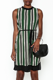 Everly Vertical Stripes Dress - Product Mini Image