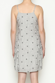 Everly Waist Tie Dress - Back cropped