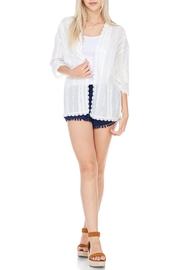 Everly White Kimono - Product Mini Image