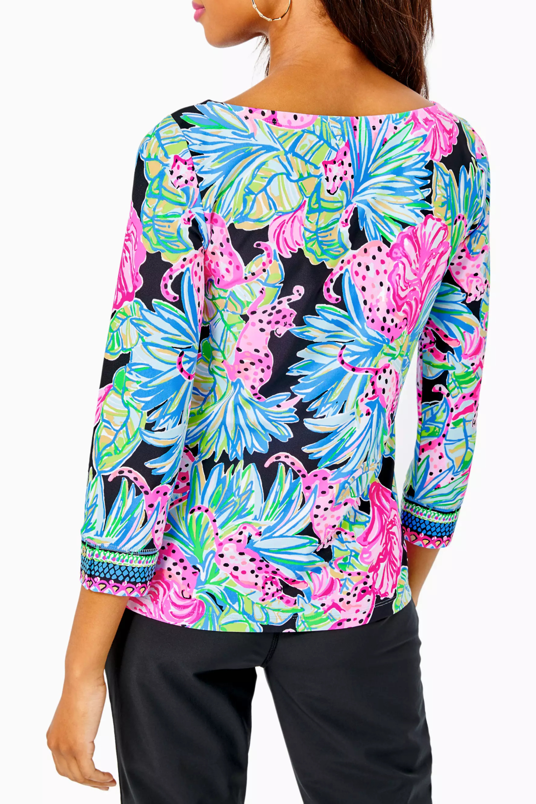 Lilly Pulitzer  Everlynn UPF 50+ Top - Front Full Image