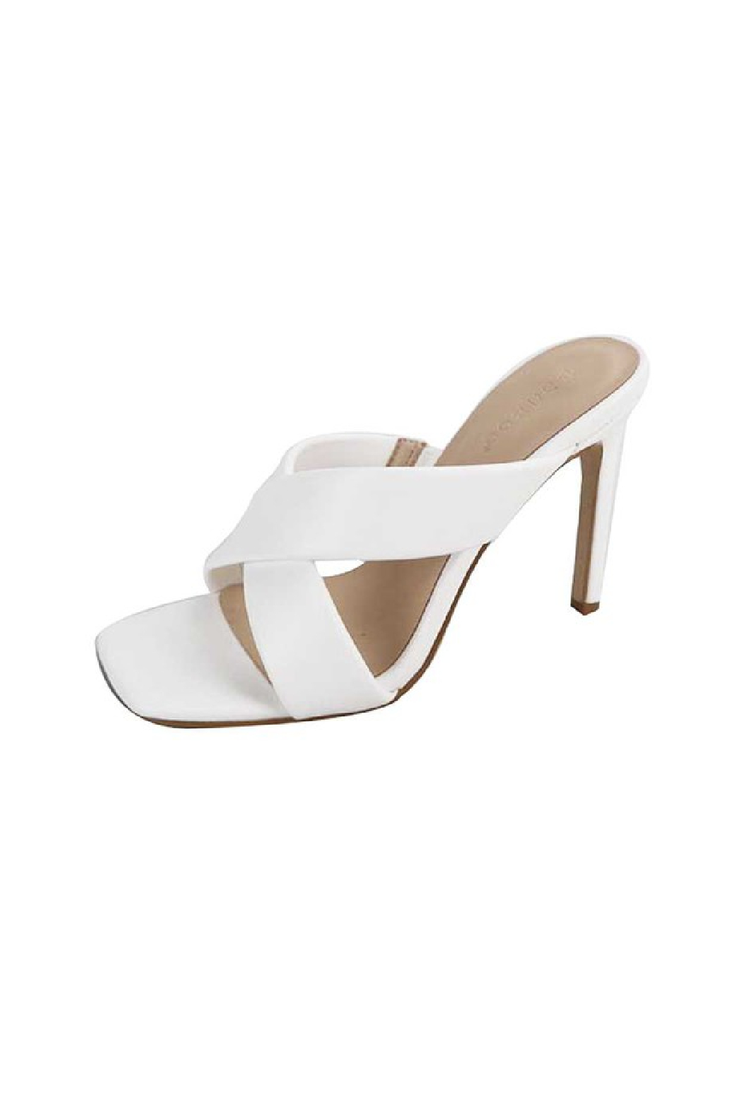 Bamboo Evermore-10 Heeled Sandal - Front Cropped Image