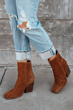 Seychelles  Every Time You Go Suede Bootie - Product List Image