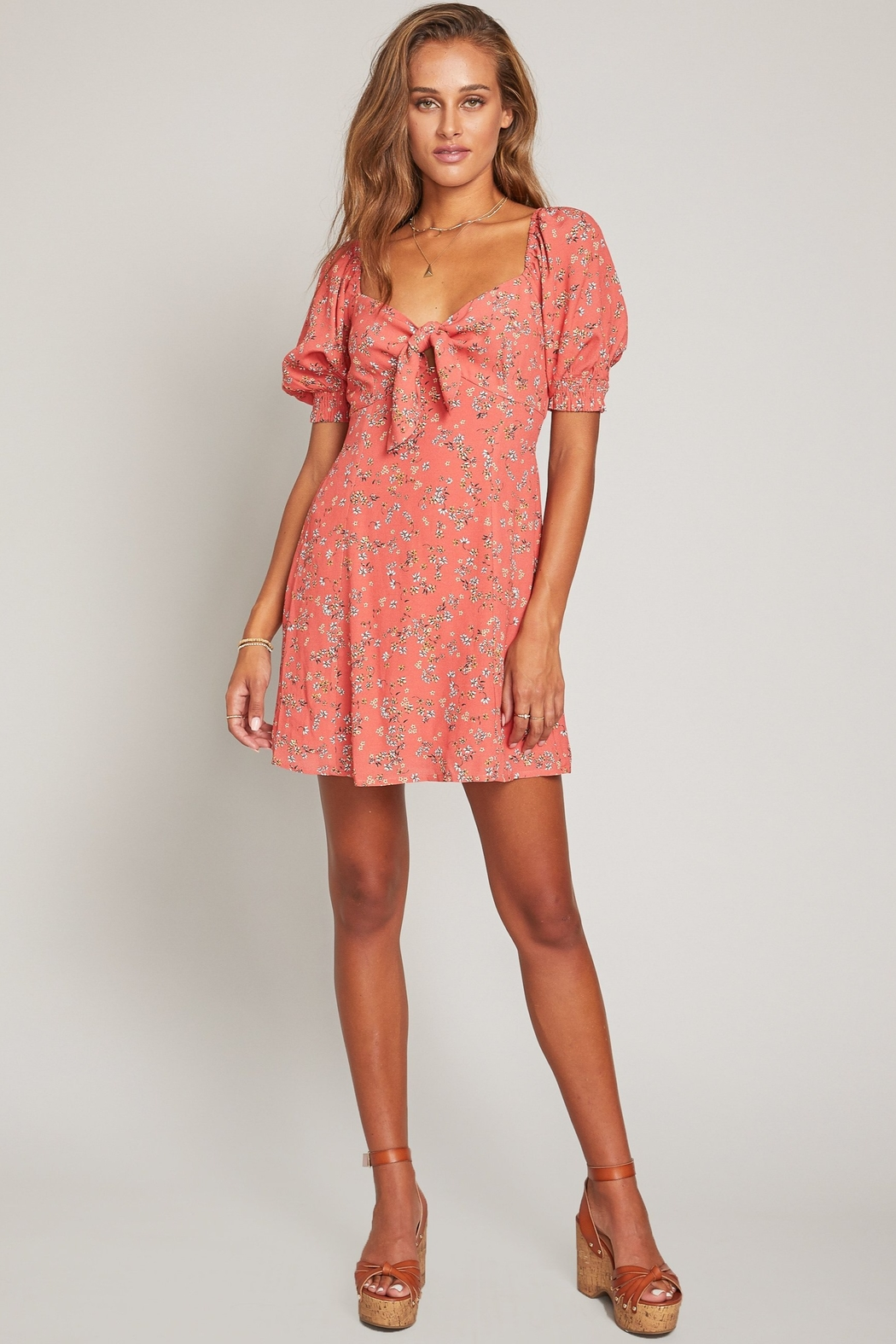 Lost + Wander Everyday Adventures Dress - Side Cropped Image