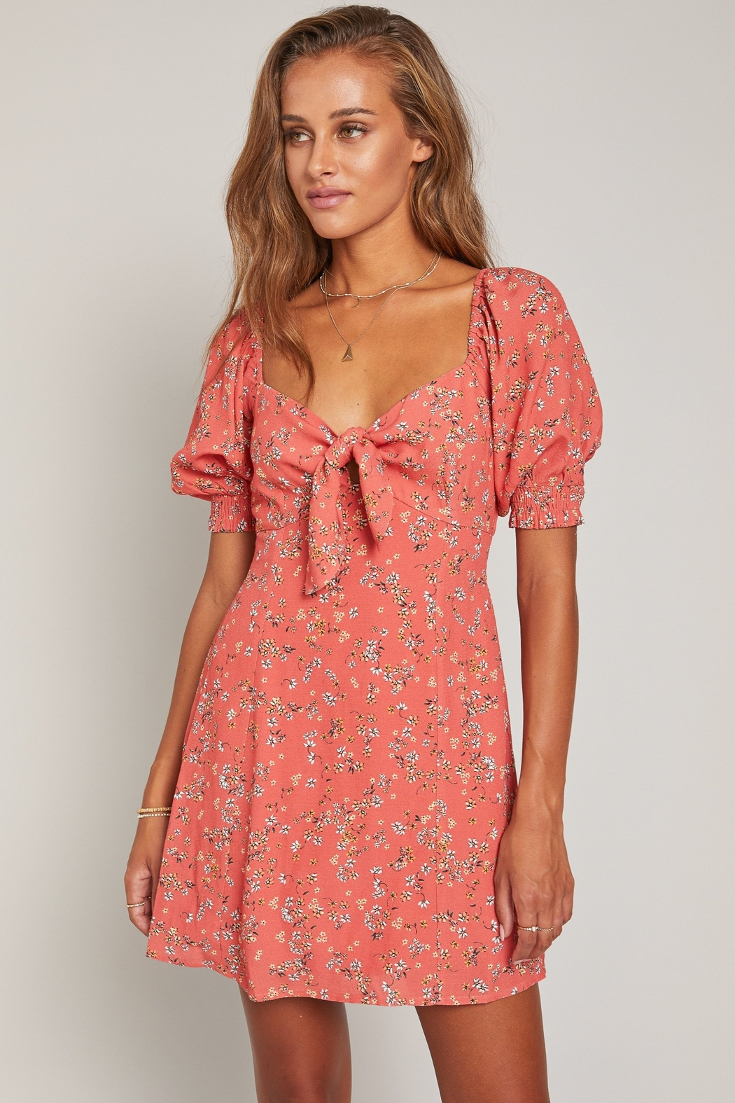 Lost + Wander Everyday Adventures Dress - Front Cropped Image