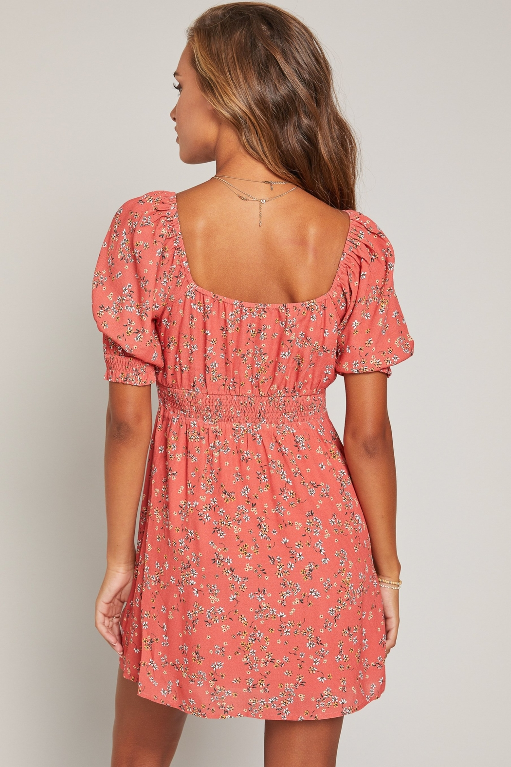 Lost + Wander Everyday Adventures Dress - Back Cropped Image