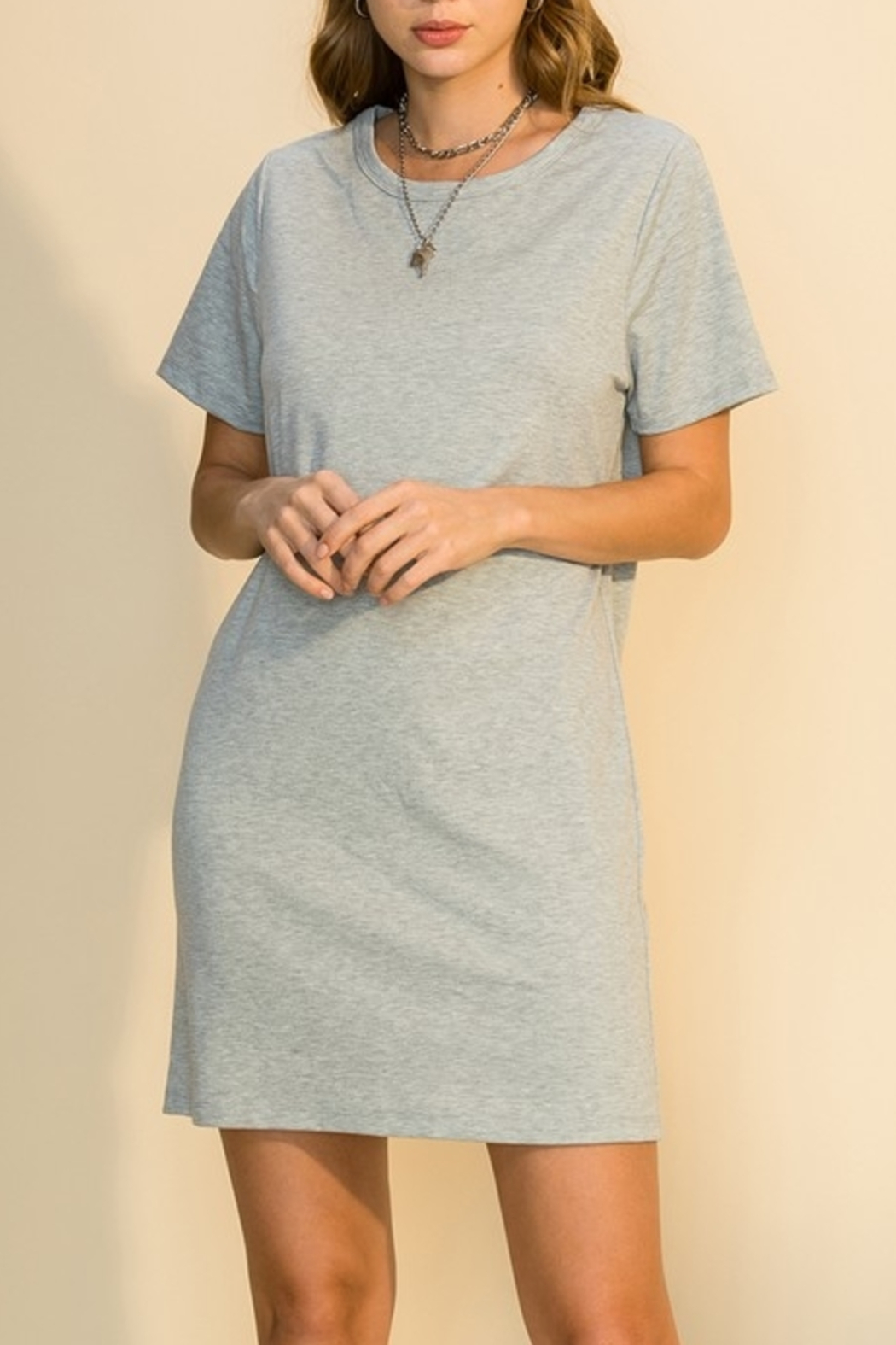 HYFVE Everyday Basic Dress - Front Cropped Image