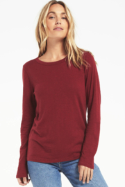 z supply Everyday Brushed Top - Front cropped