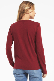 z supply Everyday Brushed Top - Front full body