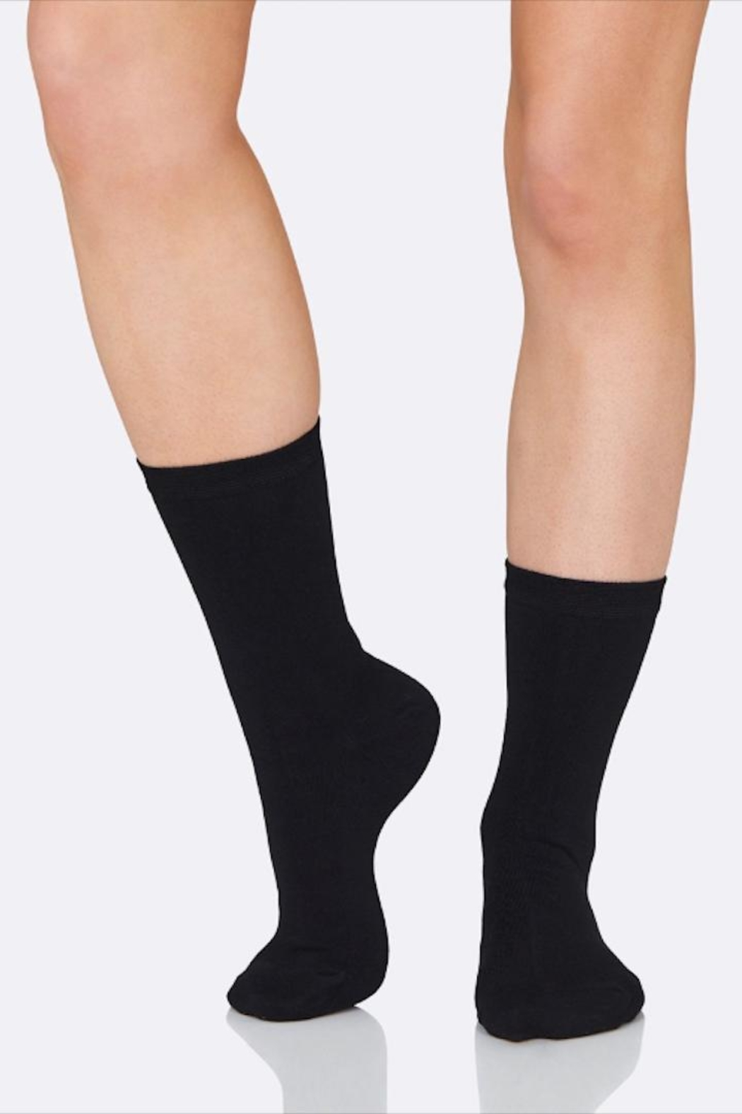 Boody Everyday Crew Socks - Front Cropped Image