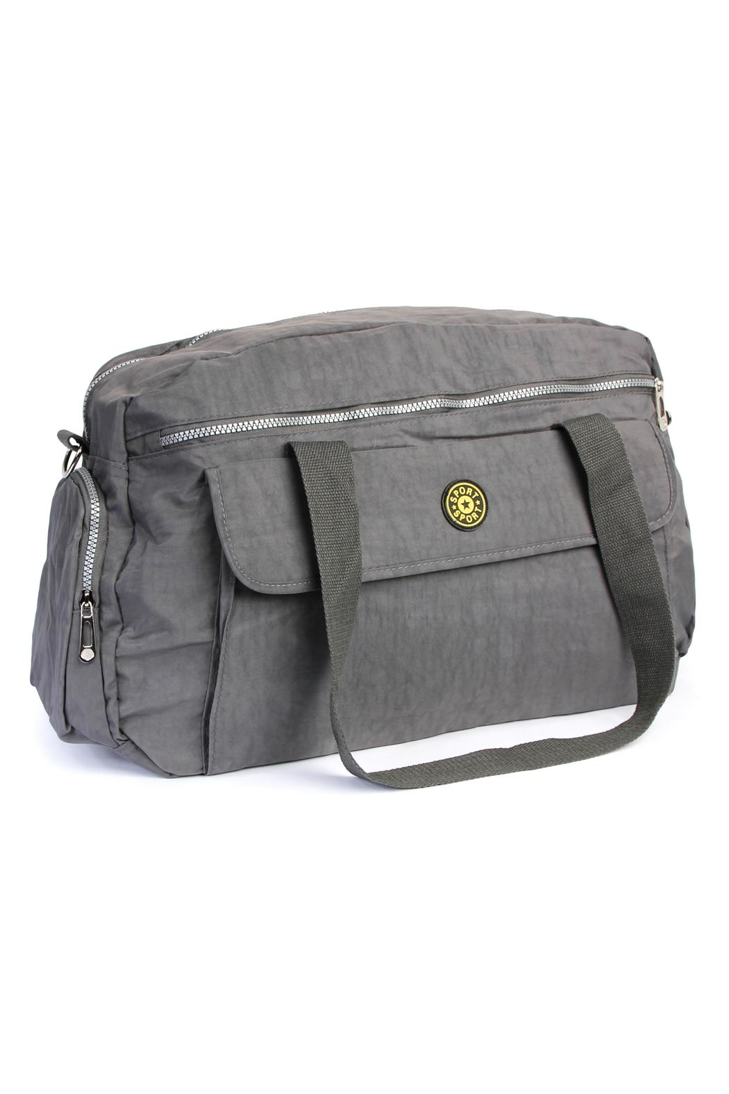 Riah Fashion Everyday Duffel Bag - Front Cropped Image