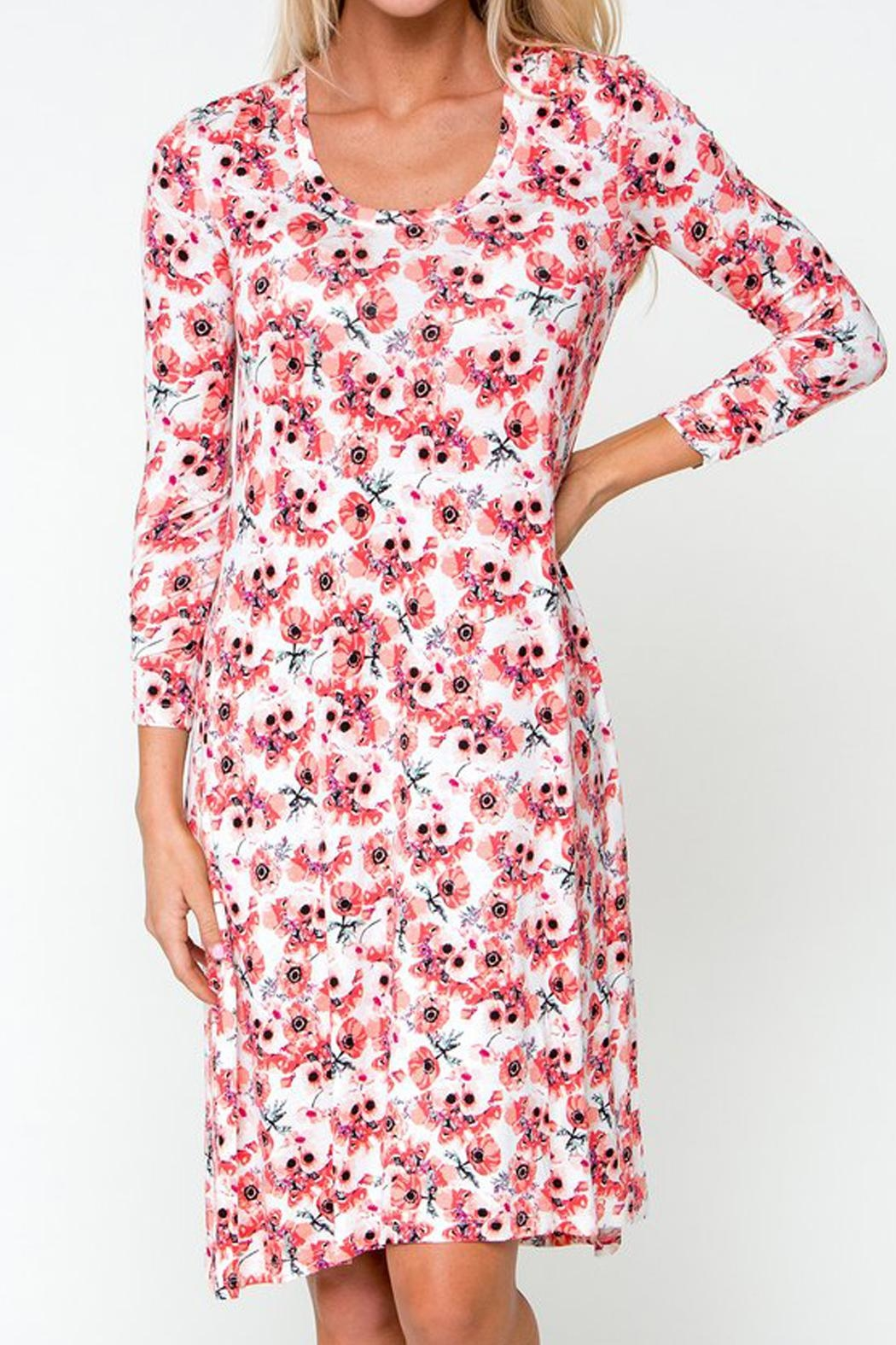Downeast Basics Everyday Floral Dress - Main Image
