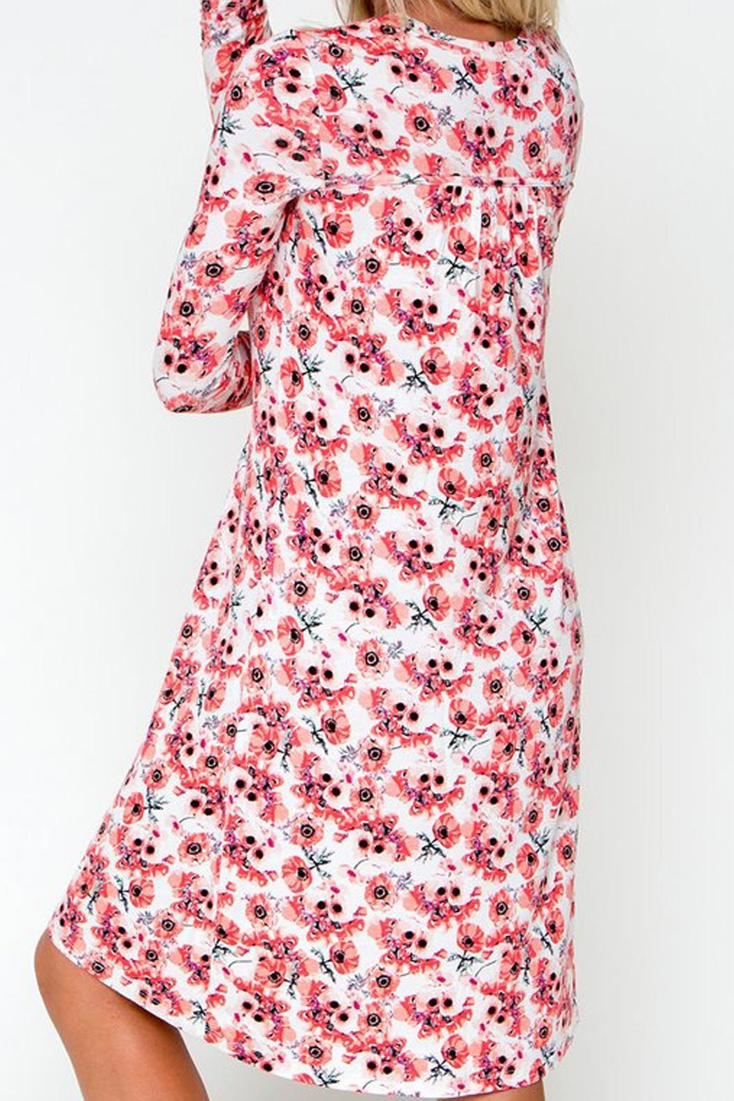 Downeast Basics Everyday Floral Dress - Front Full Image