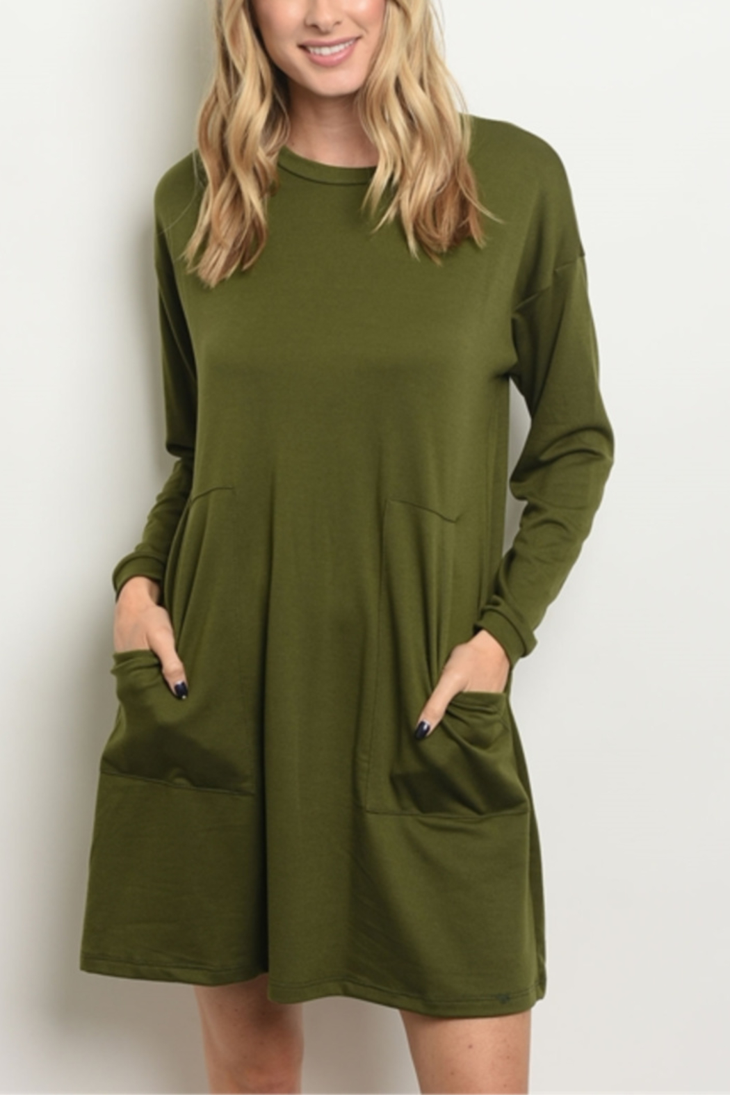 dec67f62325 LM Everyday Jersey Long Sleeve Tunic Dress from Indiana by Lyn ...