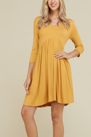 annabelle Everyday Knit Swing Dress - Product Mini Image