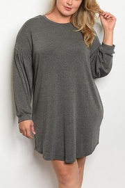 Lyn -Maree's Everyday Long Sleeve Dress - Front cropped