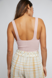 Free People  Everyday Seamless Crop - Front full body