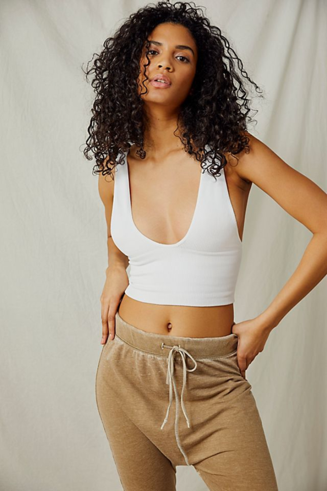 Free People  Everyday Seamless Crop - Front Cropped Image