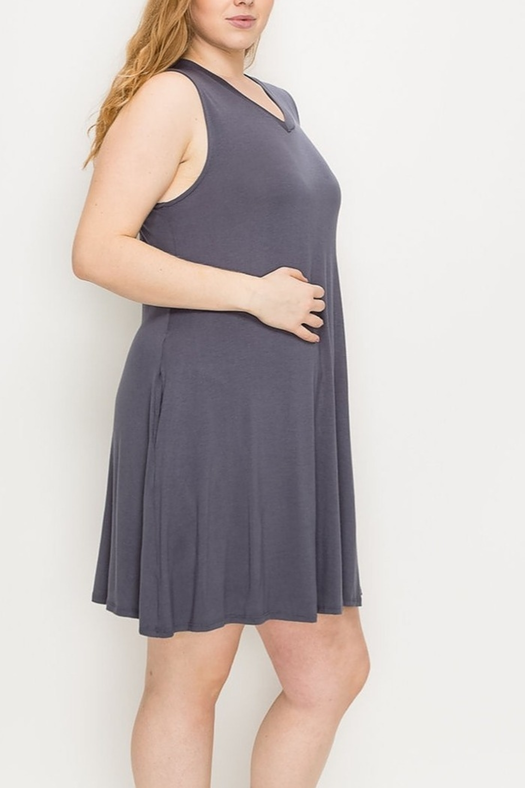 Lyn-Maree's  Everyday Swing Dress - Front Cropped Image