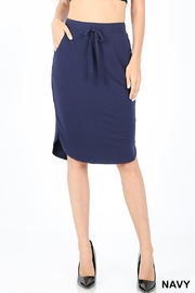 Lyn -Maree's Everyday Tulip Hem Skirt - Front cropped