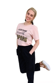kissed Apparel Everything Goes With Leopard graphic tee - Product Mini Image