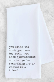 Devenie Designs Everything I Want Tea Towel - Front cropped