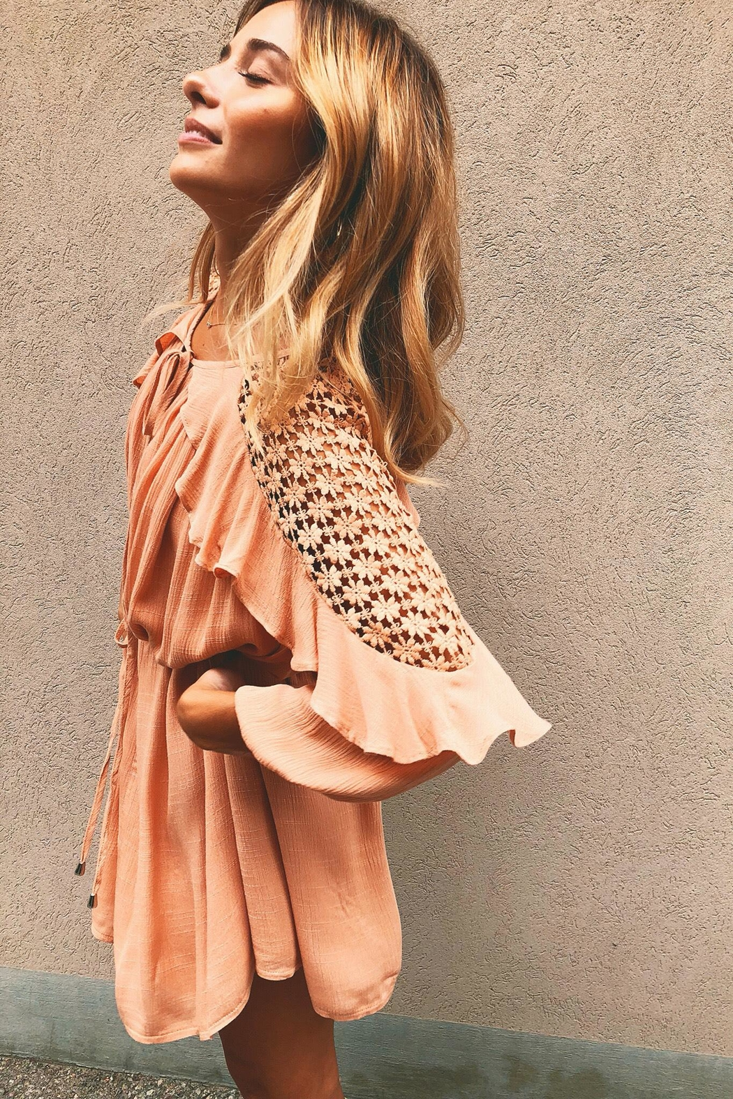 Rumor Everything's Peachy - Front Cropped Image