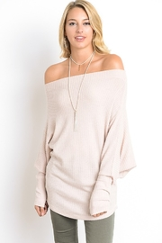 Wishlist Everything's Peachy Top - Product Mini Image