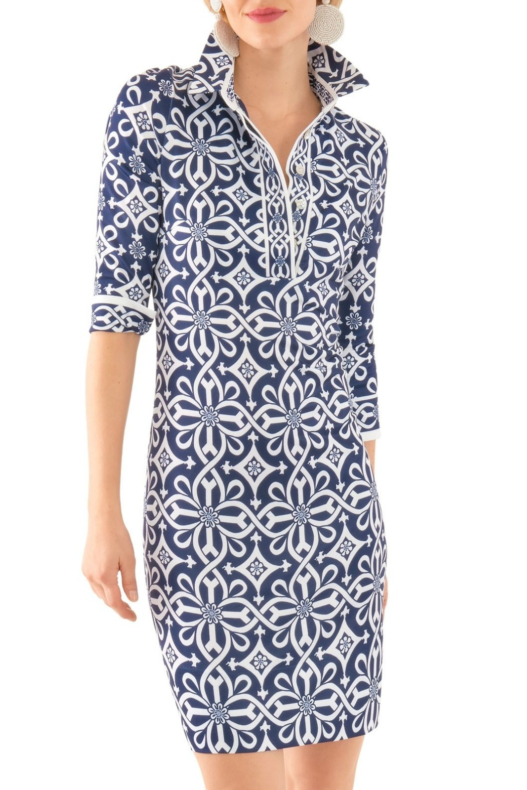 Gretchen Scott Everywhere Piazza Dress - Front Cropped Image