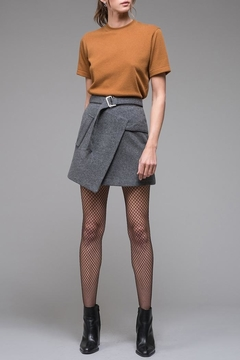 Shoptiques Product: Asymmetrical Felt Skirt