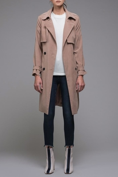 EVIDNT Beige Classic Trench - Product List Image