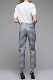 EVIDNT Blue Plaid Pant - Back cropped