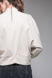 EVIDNT Stitch Detail Sweatshirt - Back cropped