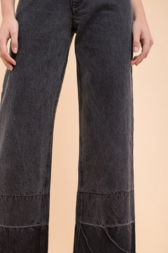 EVIDNT Two-Tone Wide-Leg Jeans - Alternate List Image