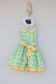 Evie's Closet Mint Pineapple Dress - Side cropped