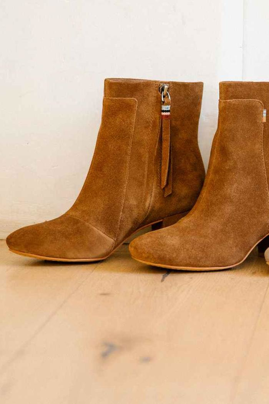 TOMS Evie Suede Bootie from New York by