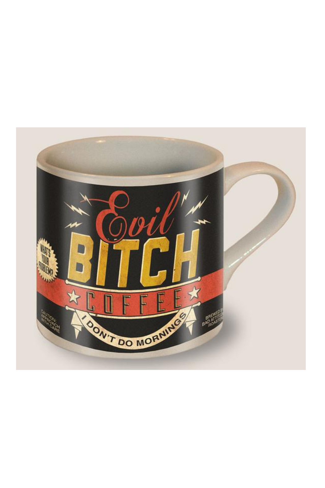 Trixie & Milo Evil Bitch Coffee Mug - Front Cropped Image